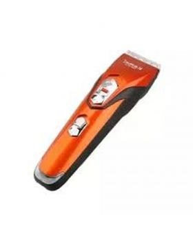 KM-313 Professional Hair Clipper - Orange and Black