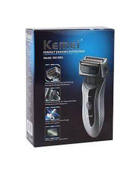 KM-9001 Electronic Rechargeable Trimmer - Black