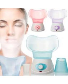 BNS-016 Facial Steamer Machine For Thermal Skin - White and Sky Blue