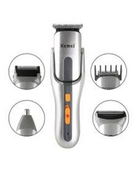 KM-680A 8 in 1 Grooming Trimmer - Silver