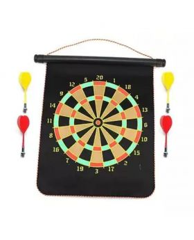 Magnetic Dart Board - Black