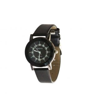 Bariho EW0065 Stainless Still Leather Belt Analogue Watch For Women
