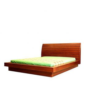 Canadian wood Oak Veneer  Bed - Lacquer Polish