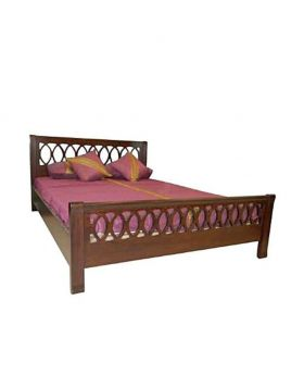Malaysian MDF Wood Bed Lacquer Polish