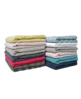 6 Pcs Face Towel-Assorted Color