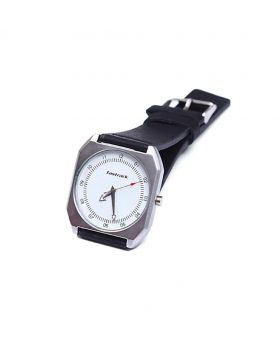 Fastrack FK02301-0017 Stainless Steel Leather Belt Analogue Watch For Men