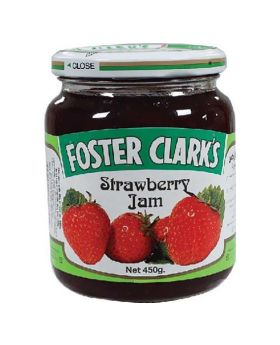 Foster Clark's Jam 450g Strawberry
