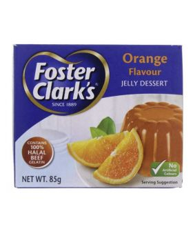 Foster Clark's Jelly Crystal 85g Orange