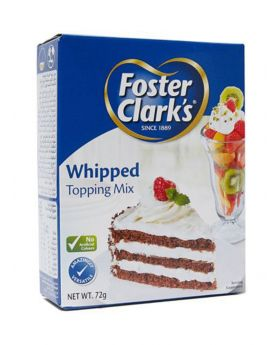 Foster Clark's Whipped Topping Mix  72g Pack