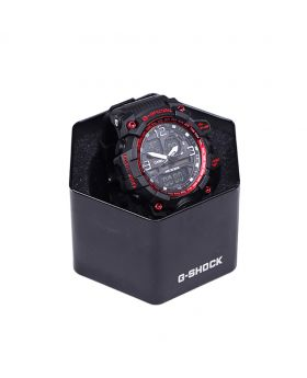 G-SHOCK Stainless Steel Rubber Belt Analogue Watch For Men- GS08504-0037