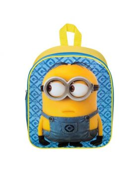 Minions Junior Yellow Polyester Backpack - 32.5x 26 x 10 cm