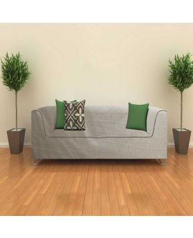High quality Ash Color Boutique Indian Sofa Fabric-1 Yards