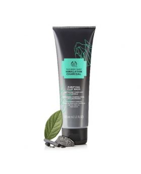 The Body Shop Himalayan Charcoal Purifying Clay Wash