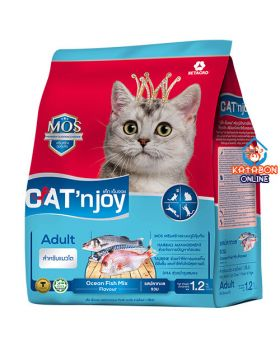 Cat n Joy Ocean Fish Mix  1.2kg