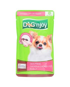 Dog n Joy Chicken & Chicken Liver in Jelly 120g