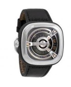 Leather Analog Watch For Men - Brown
