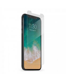 Full Covere White Bezel Tempered Glass Armor Series for Apple iPhone X bogo