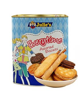 Julie's Love Letters Chocolate Cream 400gm Tin