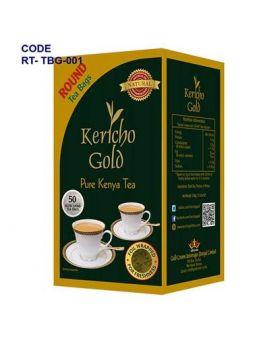 Kericho Gold Tea Bags With Tag 100 String & Tag