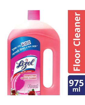 Lizol Floor Cleaner 975ml Floral