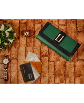 Green Color Ladies wallet