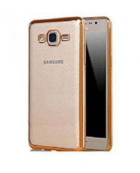 Hallsen Gold Back Case for Samsung Galaxy J2 Prime