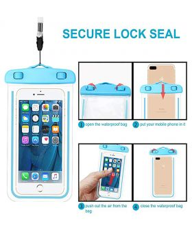 Universal Waterproof Underwater Pouch Dry Bag Case Cover Cell Phone Swimming Bag Fits Most Mobile Phones