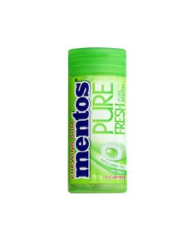 Mentos Pure Fresh Chewing Sugar Free Gum (Green Tea Fresh Mint)29.7 gm