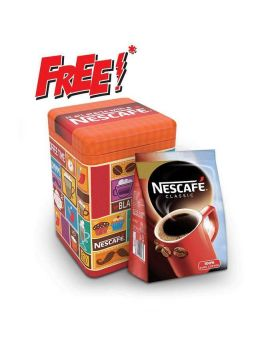 Nescafe Classic Coffee Jar (Free Nescafe Red Mug) 1
