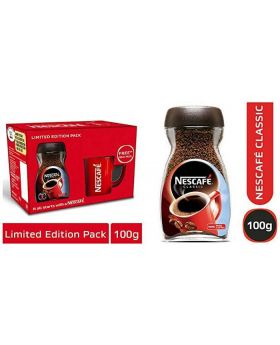 Nescafe Classic Coffee Jar (Free Nescafe Red Mug)