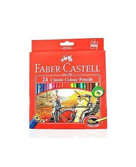 New classic color pencil(long)-24 piece