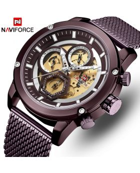 NAVIFORCE NF9160 Men's Fashion Sport Watch Black Gray