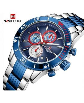NAVIFORCE 9170-BGN Analog Digital Stainless Steel Sports Watch
