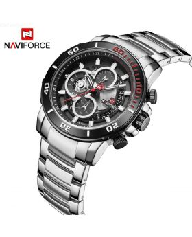 NAVIFORCE 9173- SBE Luxury Brand Stainless Steel Sports Watch for Men