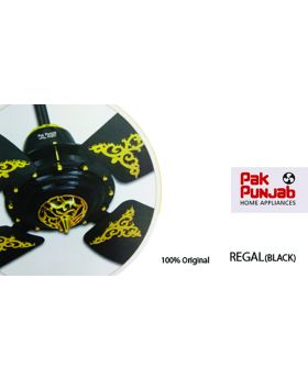 Pak Punjab Regal Series Ceiling Fan 4 Blade off white Gold