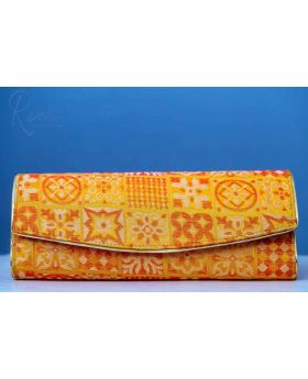 Yellow Color Classic Clutch Katan (Volume 2)