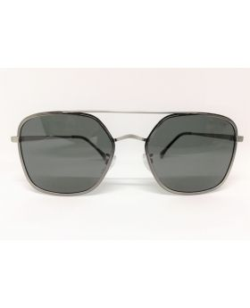 Metal-Plastic Grey Sunglass for Men