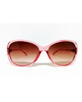 Metal & Plastic Pink Sunglass For Women