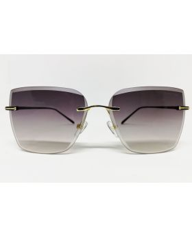 Metal & Plastic Multi-Color Rectangular Sunglass For Women