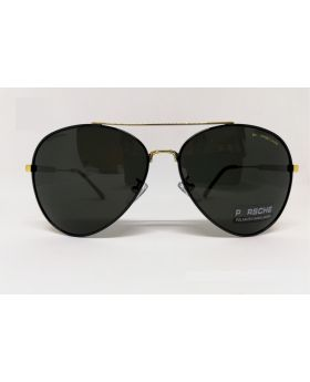 Porsche Replica Polarised Golden Sunglass for Men