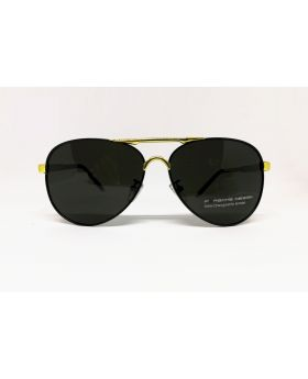 Porsche Replica Polarised Golden-Black Sunglass for Men