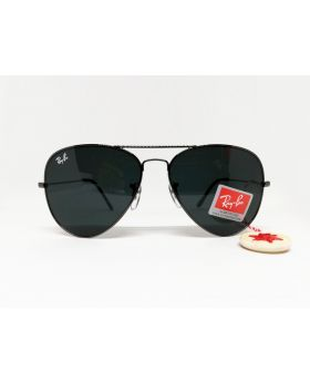 Fashionable Ray Ban Replica UV Protection G-15 Lens Black Sunglass for Men
