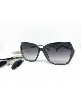 Metal & Plastic Black Sunglass For Women