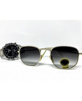 UV Protection G-15 Lens Silver Sunglass for Men