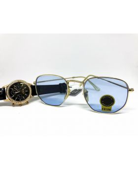 UV Protection G-15 Lens Golden Sunglass for Men