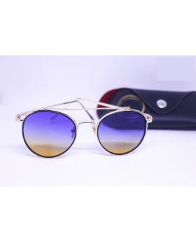 Golden-Blue Sunglass for Men