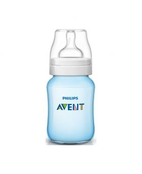 Philips Avent Classic Plus Feeding Bottle for Baby - 260ml Blue (UK)