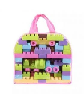 Plastic Building Blocks Toy - Multi Color