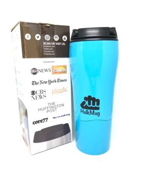 Blue Color Mighty Smartgrip Mug