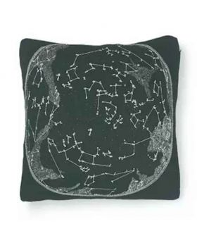 Polly Filler Cushion & Cotton Cover Set - Black